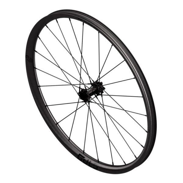 carbon fiber mountain bike enduro wheel with carbon composite spokes