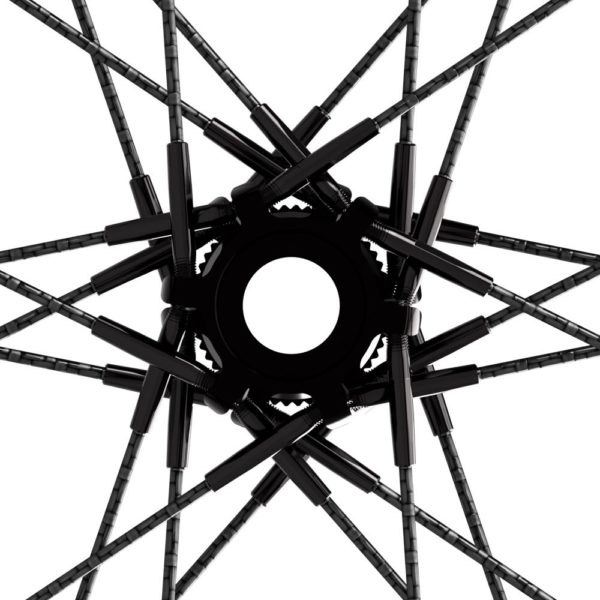carbon fiber road bike aero wheel with carbon composite spokes