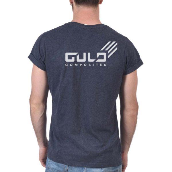 gulo black logo tee