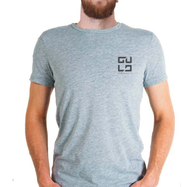 gulo logo shirt gray
