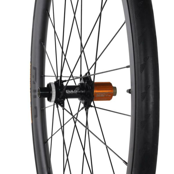 GRD 36 gulo composites road and gravel back bicycle wheel