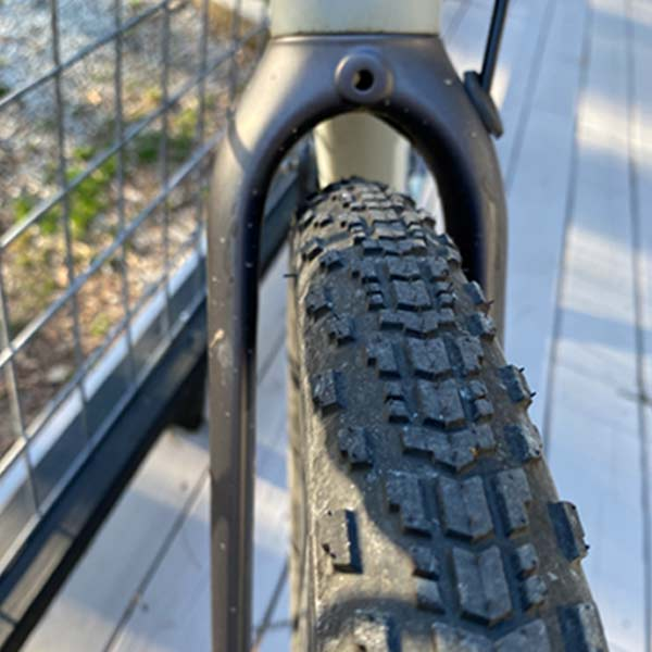 gravel wheel front tire