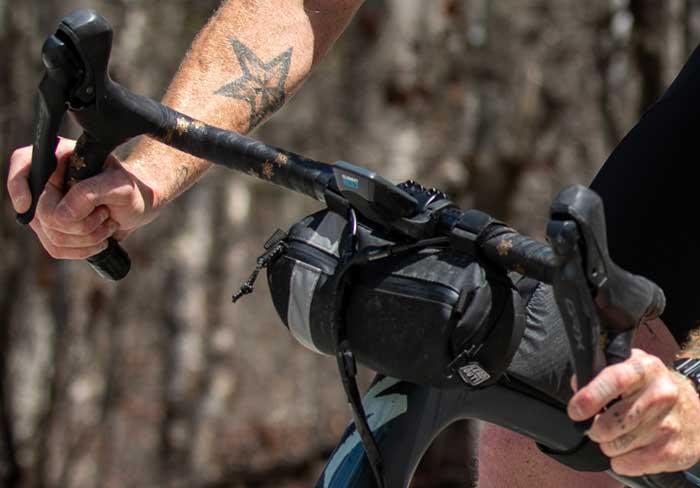 flared gravel bike handle bars
