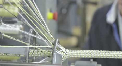triaxial braided composite