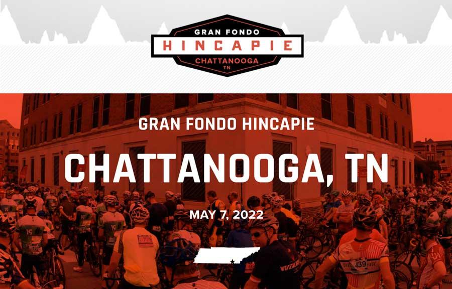 Chattanooga TN gran fondo 2022 graphich
