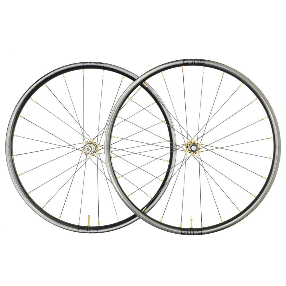 gulo GGA-SL carbon fiber gravel bike wheel set with composite spokes